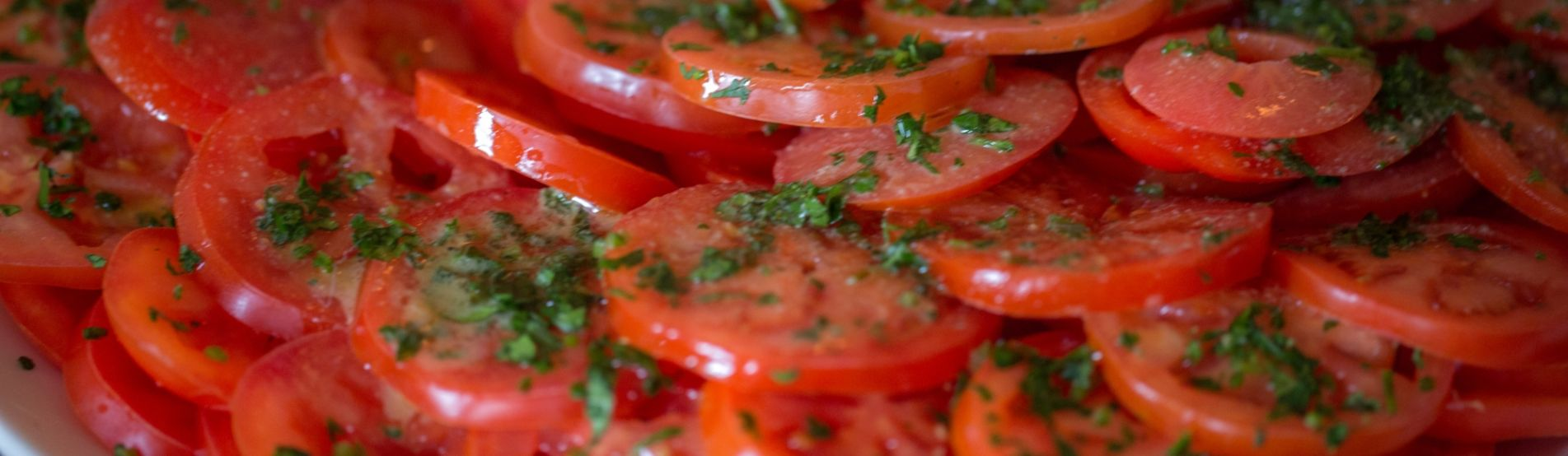 Sliced Tomatoes Close Up RESIZE