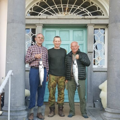 Fishing at Loungueville House in Cork