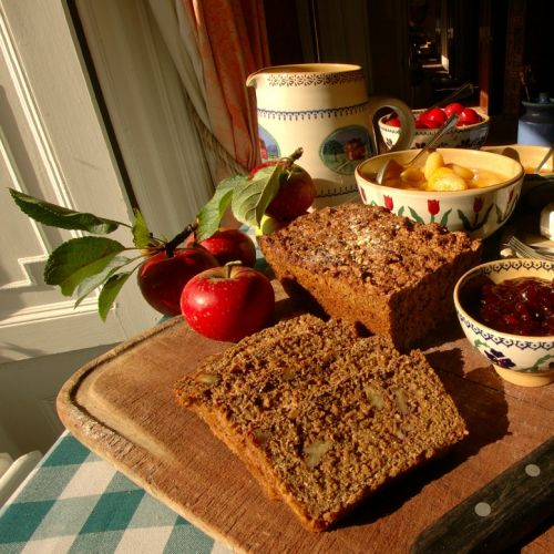 Fresh Brown Soda Bread at Longueville House