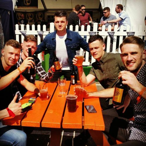 Cider in the sun