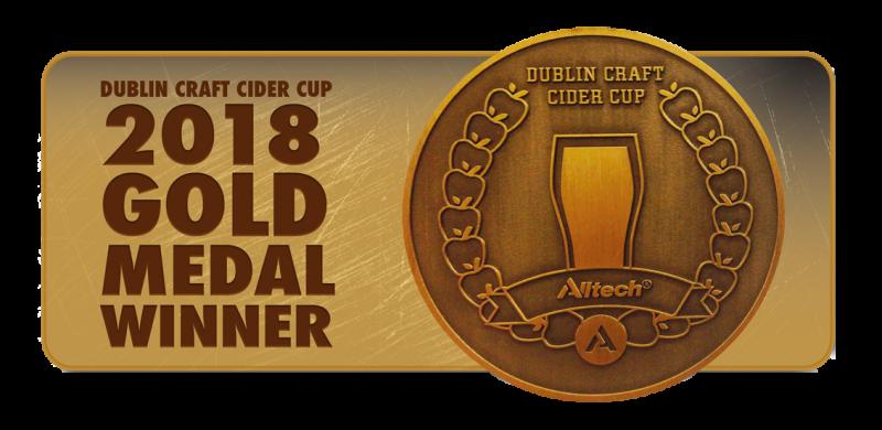 cider cup cert gold medal winner 2018