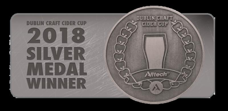 cider cup cert silver medal winner 2018